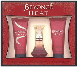 Parfumuri și produse cosmetice Beyonce Heat - Set (edp/30ml + sh/gel/75ml + b/lot/75ml)