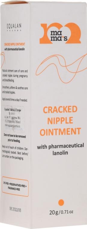 Unguent cu lanolină pentru mameloane iritate - Mama's Cracked Nipple Ointment With Pharmaceutical Grade Lanolin