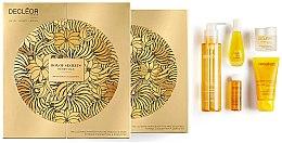 Set - Decleor Box of Secrets Merry Oils (balm/15ml + ser/15ml + miccelar/150ml + oil/15ml + b/exf/50ml) — Imagine N2