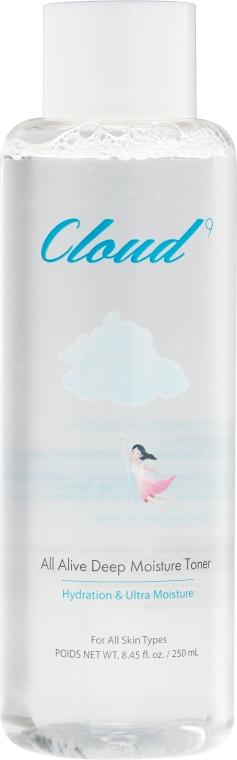 Tonic pentru față - Cloud9 All Alive Moisture Toner — Imagine N2