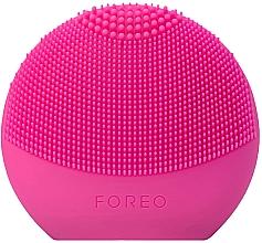 Parfumuri și produse cosmetice Perie pentru față - Foreo Luna Fofo Smart Facial Cleansing Brush Fuchsia