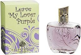 Parfumuri și produse cosmetice Real Time Leave My Lover Purple - Apă de parfum