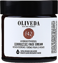 Parfumuri și produse cosmetice Cremă de față - Oliveda F42 Gesichtscreme Hydroxytyrosol Corrective Face Cream