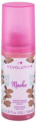 Fixator de machiaj - I Heart Revolution Fixing Spray Mocha — Imagine N1