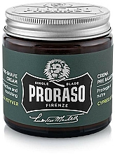 Parfumuri și produse cosmetice Cremă pre-bărbierit - Proraso Cypress & Vetyver Pre-Shaving Cream