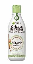 """Parfumuri și produse cosmetice Mască de păr """"Lapte de migdale""""  - Garnier Original Remedies Almond Milk Mask"""