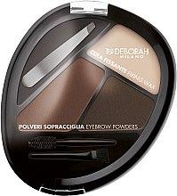 """Parfumuri și produse cosmetice Set """"Sprâncene ideale"""" - Deborah Milano Eyebrow Perfect Kit"""