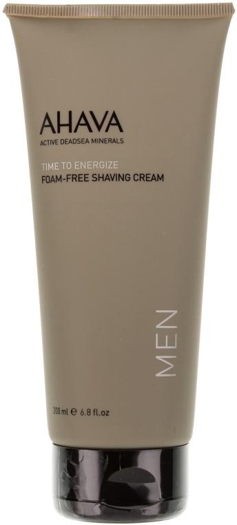Cremă de ras, fără spumă - Ahava Men Time To Energize Foam Free Shaving Cream — Imagine N2