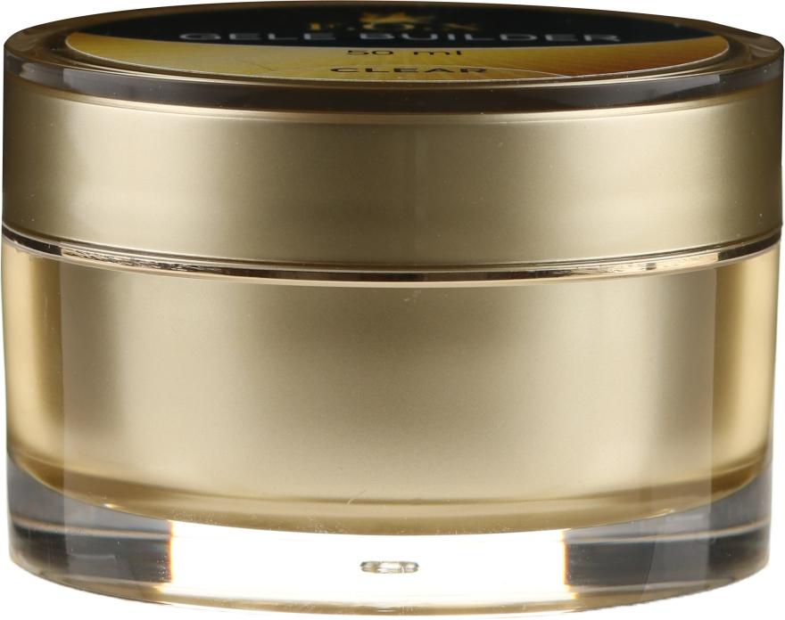 Gel de unghii, transparent - F.O.X Gele Builder UV Clear — Imagine N2