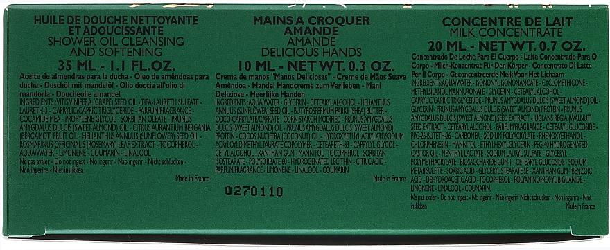 Set - L'Occitane Almond Tree (sh/oil/30ml + milk/20ml + h/cr/10ml) — Imagine N6