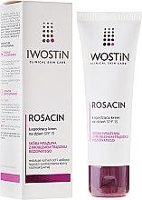 Parfumuri și produse cosmetice Cremă relaxantă pentru față - Iwostin Rosacin Soothing Day Cream Against Redness SPF 15