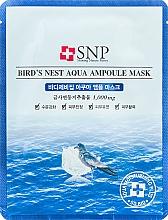 Parfumuri și produse cosmetice Mască de întinerire cu extract de cuib de rândunică - SNP Birds Nest Aqua Ampoule Mask