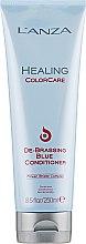 Parfumuri și produse cosmetice Balsam pentru eliminarea reflexiilor roșcate - L'anza Healing ColorCare De-Brassing Blue Conditioner