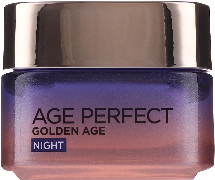 Cremă de noapte pentru față - L'Oreal Paris Age Perfect Neo-Calcium Night Cream 60+ — Imagine N2