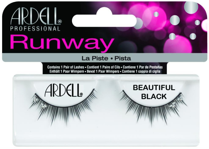 Extensii gene - Ardell Runway Lashes Beautiful Black — Imagine N1