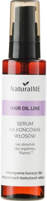 Ser pentru vârfuri despicate - NaturalME Hair Oil Line
