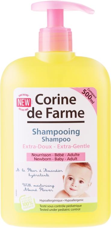 Șampon delicat cu extract de floare de migdale - Corine de Farme Baby — Imagine N1