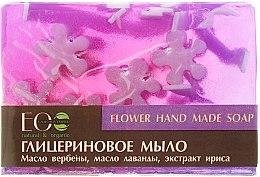 Parfumuri și produse cosmetice Săpun cu glicerină cu uleiuri și extracte de flori - ECO Laboratorie Flower Hand Made Soap