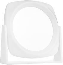 Parfumuri și produse cosmetice Oglindă cosmetică cu două fețe, albă - Titania