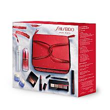 Parfumuri și produse cosmetice Set - Shiseido Christmas Blockbuster Beauty Essentials (conc/50ml+demaq/125ml+f/cr/15ml+f/cr/15ml+mascara/11.5ml+eye/shadow/5.2g+eye/liner/0.4ml+blush/4g+lipstick/4g)