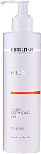 Parfumuri și produse cosmetice Săpun pentru ten gras - Christina Fresh Honey Cleansing Gel
