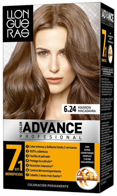Vopsea de păr - Llongueras Color Advance Hair Colour