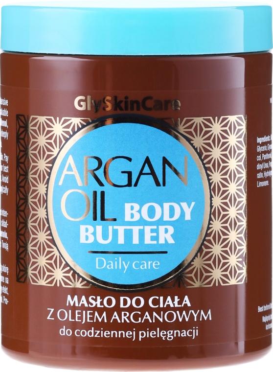 Unt de corp cu ulei de argan - GlySkinCare Argan Oil Body Butter