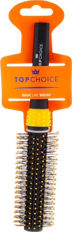 Perie Brushing, 2083, galben negru - Top Choice