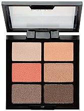 Parfumuri și produse cosmetice Paleta fard de pleoape - MUA 6 Shade Palette