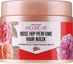 Parfumuri și produse cosmetice Mască pentru păr deteriorat - Welcos Around Me Rose Hip Perfume Hair Mask