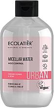 """Parfumuri și produse cosmetice Apă micelară """"Floare de orhidee și trandafir"""" - Ecolatier Urban Micellar Water Age Control"""