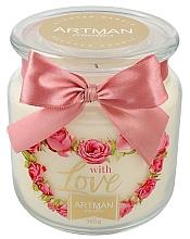 Parfumuri și produse cosmetice Lumânare aromatică - Artman With Love