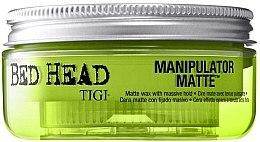 Parfumuri și produse cosmetice Ceară mată fixare foarte puternică - Tigi Manipulator Matte