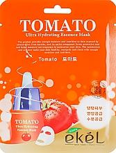 Parfumuri și produse cosmetice Mască de țesut cu extract de roșii - Ekel Tomato Ultra Hydrating Mask