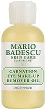 Parfumuri și produse cosmetice Ulei demachiant pentru ochi - Mario Badescu Carnation Eye Make-Up Remover Oil