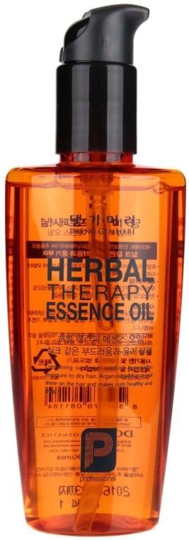 Ulei regenerant pe bază de plante pentru păr - Daeng Gi Meo Ri Herbal Therpay Essence Oil — Imagine N2