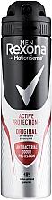 "Parfumuri și produse cosmetice Deodorantul antiperspirant spray ""Efect antibacterian"" - Rexona Men MotionSense Active Shield Anti-Perspirant"