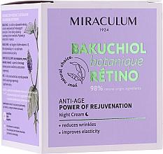 Parfumuri și produse cosmetice Cremă de noapte pentru față - Miraculum Bakuchiol Botanique Retino Anti-Age Cream
