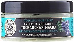 """Parfumuri și produse cosmetice Mască pentru păr uscat și deteriorat """"Smarald toscan"""" - Planeta Organica Toscana Hair Mask"""