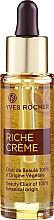 "Parfumuri și produse cosmetice Ser ""Elixirul frumuseții"" 100% origine vegetală - Yves Rocher Riche Creme Beauty Elixir Of 100% Botanical Origin"