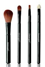Parfumuri și produse cosmetice Set pensule pentru machiaj, 4 bucăți - Donegal