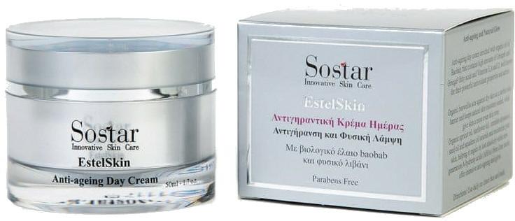 Cremă de față - Sostar EstelSkin Anti-ageing Day Cream — Imagine N1