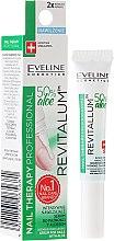 Parfumuri și produse cosmetice Ser hidratant cu aloe pentru unghii și cuticule - Eveline Cosmetics Nail Therapy Professional Serum Aloe Conditioner