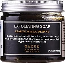 Parfumuri și produse cosmetice Săpun negru natural - Namur Black Exfoliating Soap