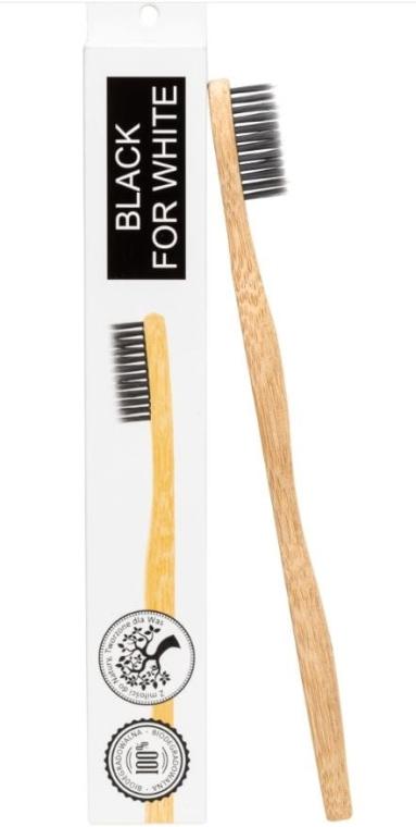 Periuță de dinți, din bambus, moale - Biomika Natural Bamboo Toothbrush