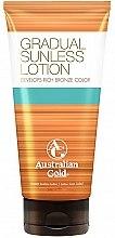 Parfumuri și produse cosmetice Loțiune autobronzantă pentru corp - Australian Gold Gradual Sunless Lotion