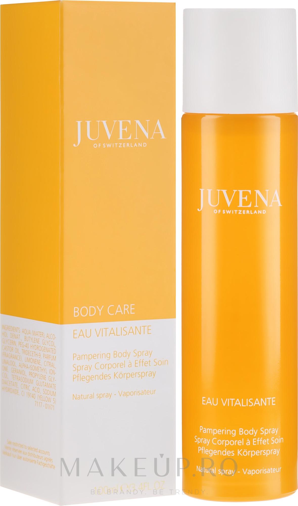 "Spray parfumat pentru corp ""Citrus"" - Juvena Body Care Eau Vitalisante Citrus Pampering Body Spray — Imagine 100 ml"