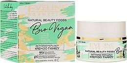 Parfumuri și produse cosmetice Cremă matifiantă pentru față - Eveline Cosmetics Natural Beauty Foods Bio Vegan