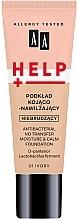 Parfumuri și produse cosmetice Fond de ten - AA Help Antibacterial No Transfer Moisture & Calm Foundation