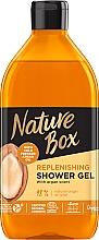Parfumuri și produse cosmetice Gel de duș cu ulei de argan - Nature Box Nourishment Shower Gel With Cold Pressed Argan Oil